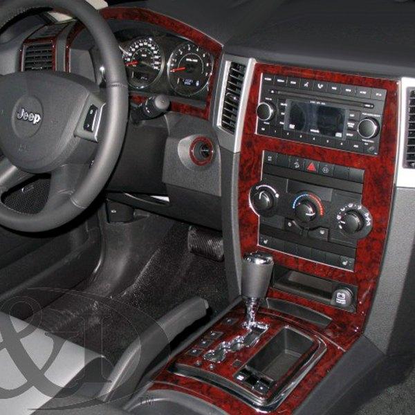 B I 2d Platinum Silver Full Dash Kit 15