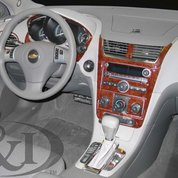 Chevy Malibu 2008 2D Full Dash Kit