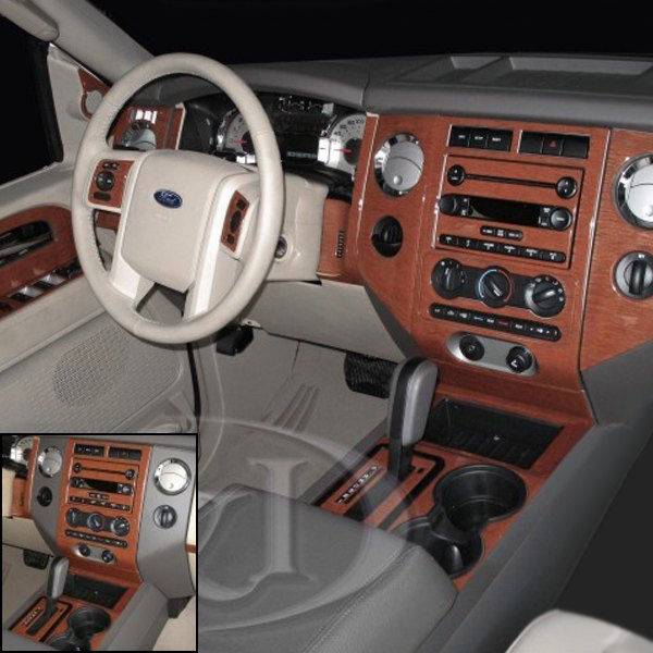 B Amp I 174 Ford Expedition W O Factory Wood 2009 2d Large Dash Kit