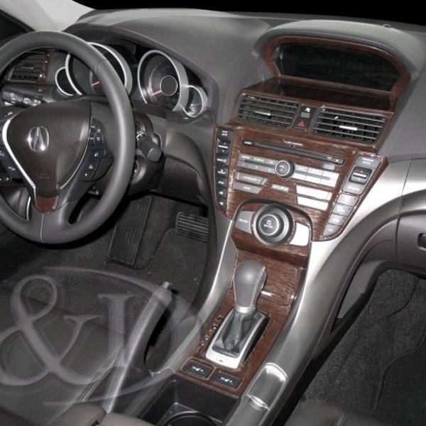 Acura TL 2009 2D Full Dash Kit