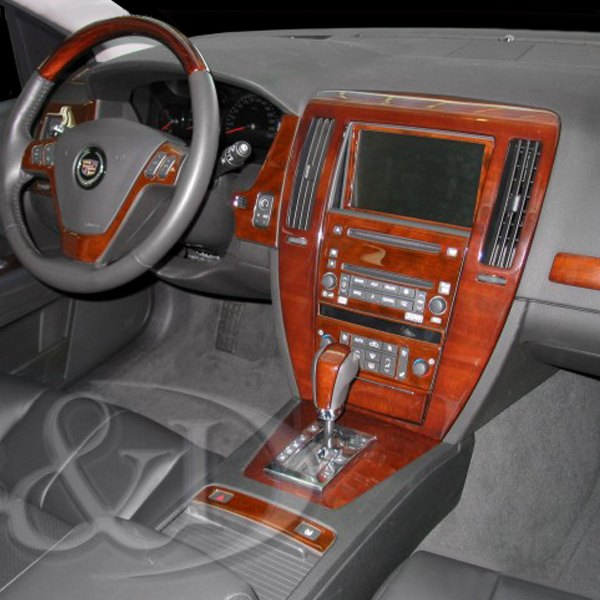 Cadillac Stsv: Cadillac STS / STS-V W/O Factory Wood 2008 2D Small Dash Kit
