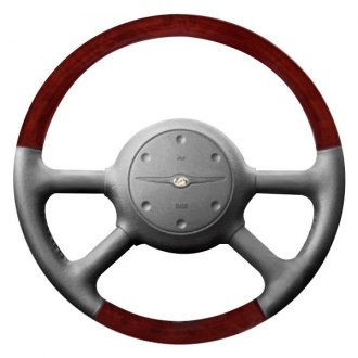B&I® - Premium Design Steering Wheel (Earth Leather and Natural Birdseye Grip)