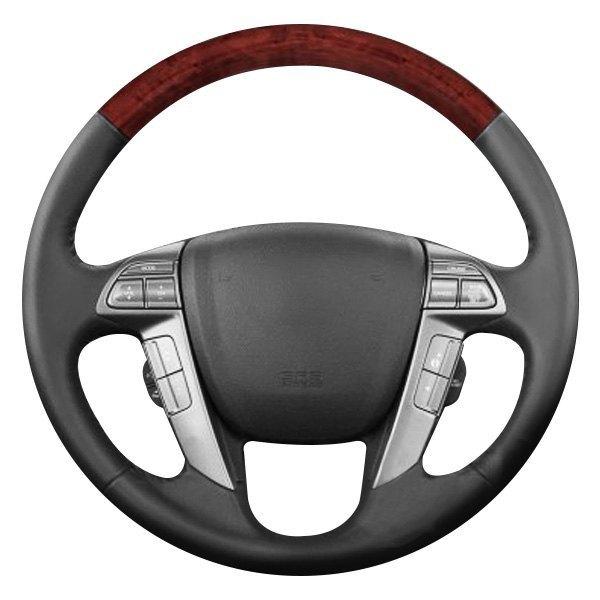 B i honda accord 2011 basic design 4 spokes steering wheel for Benetton 4 wheel steering
