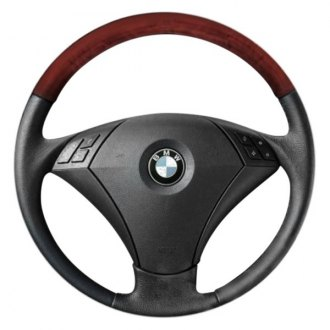 B&I® - Premium Design 3 Spokes Steering Wheel with Insert on Top