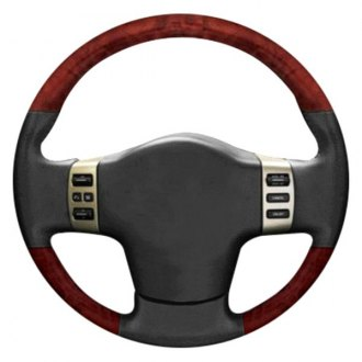 B&I® - Premium Design Steering Wheel with Insert on Top and Bottom