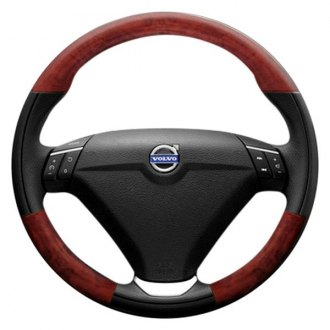 B&I® - Premium Design Steering Wheel with on Top and Bottom Inserts