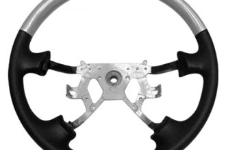B&I® - Steering Wheel with Charcoal Black Leather