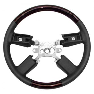 B&I® - Steering Wheel with Charcoal Leather