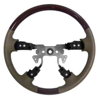 B&I® - Steering Wheel with Factory Match Inserts and Medium Parchmont Leather