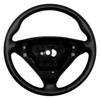 B&I® - 3 Spoke Steering Wheel with Factory Match Inserts and Black Leather