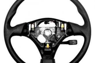 B&I® - Steering Wheel with Light Gray Leather