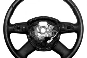 B&I® - Steering Wheel with Grey Leather