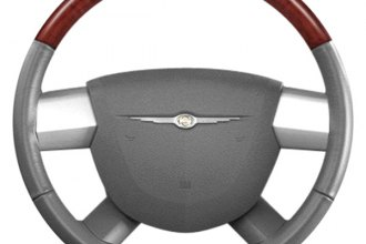 B&I® - Steering Wheel with Dark Gray Leather