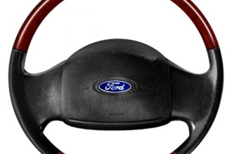 B&I® - Steering Wheel with Platinum Silver Inserts and Medium Prairie Tan Leather