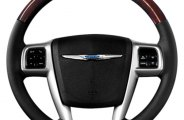 B&I® - Steering Wheel with Tan Leather