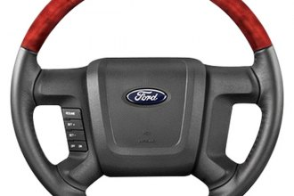 B&I® - Steering Wheel with Beige Tan Leather