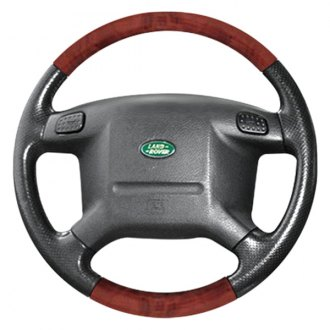 B&I® - Premium Design Steering Wheel (Charcoal Black Leather and Factory Match-OEM Grip)