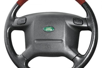 B&I® - Steering Wheel with Biege Leather