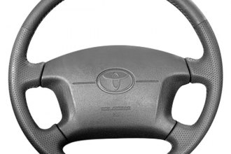 B&I® - Steering Wheel with Dark Brown Grey Leather