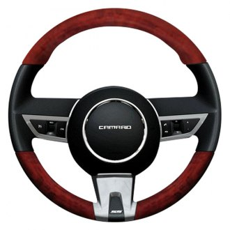 B&I® - Premium Design Steering Wheel with on Top and Bottom