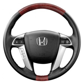 B&I® - Premium Design 4 Spokes Steering Wheel with on Top and Bottom