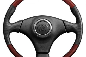 B&I® - Steering Wheel with Black Leather