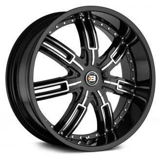 BIG BANG® - BB7 Gloss Black with Machined Face