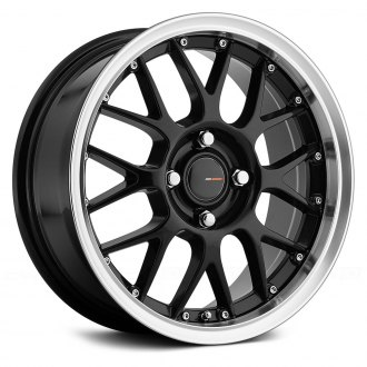 BIG BANG® - BBS72 Gloss Black with Machined Lip