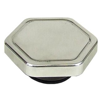 Big End Performance® - Polished Hexagon Radiator Cap
