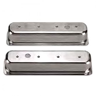 Big End Performance® - Polished Aluminum Valve Cover with Breather Hole