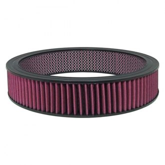 "Big End Performance® - Reusable Round Air Filter (14"" OD x 2"" H)"