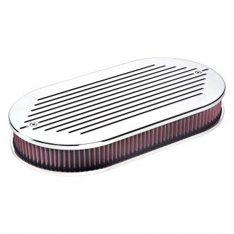 Billet Specialties® - Oval Dual Quad Air Cleaner