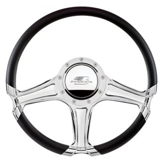 "Billet Specialties® - 14"" Select Edition Series Octane Style Steering Wheel with Polished Spokes"