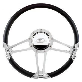 "Billet Specialties® - 14"" Select Edition Series Monaco Style Steering Wheel with Polished Spokes"
