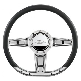 "Billet Specialties® - 14"" D-Shaped Collection Camber Style Steering Wheel"