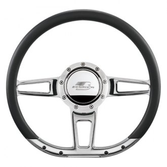"Billet Specialties® - 14"" D-Shaped Collection Formula Style Steering Wheel"