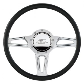 "Billet Specialties® - 14"" Standard Series Interceptor Style Steering Wheel with Polished Spokes"