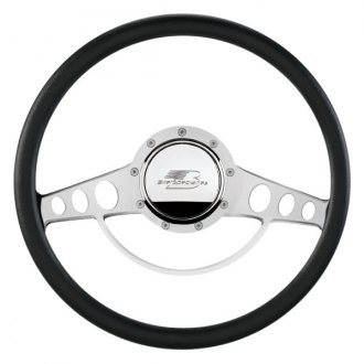 Billet Specialties® - Standard Series Classic Style Steering Wheel with Polished Spokes