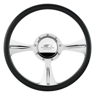 Billet Specialties® - Standard Series GTX01 Style Steering Wheel with Polished Spokes