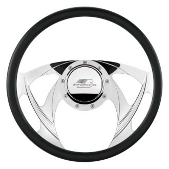 "Billet Specialties® - 14"" Standard Series Sniper Style Steering Wheel with Polished Spokes"