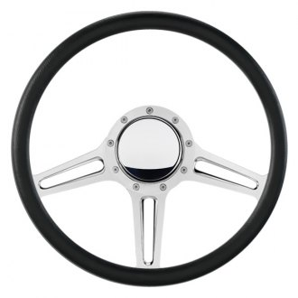 "Billet Specialties® - 14"" Standard Series Speedway Style Steering Wheel with Polished Spokes"