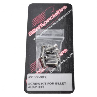 Billet Specialties® - Screw Kit for Billet Adapter