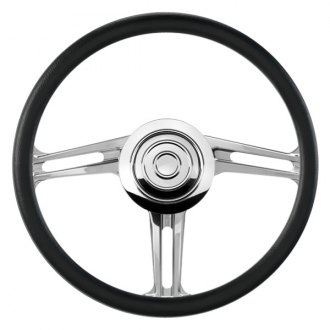 Billet Specialties® - 3-Spoke Standard Series BLVD 03 Style Steering Wheel