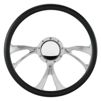 Billet Specialties® - 3-Spoke Standard Series BLVD 04 Style Steering Wheel