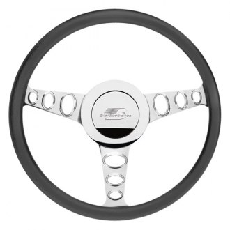 Billet Specialties® - Standard Series Outlaw Style Steering Wheel with Polished Spokes