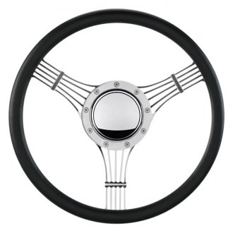 "Billet Specialties® - 15.5"" Standard Series Banjo Style Steering Wheel with Polished Spokes"