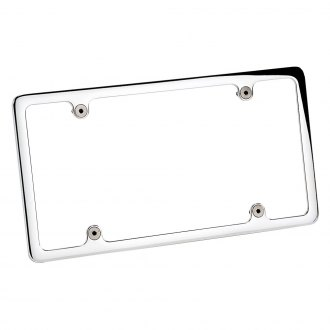 Billet Specialties® - Plain Polished License Plate Frame