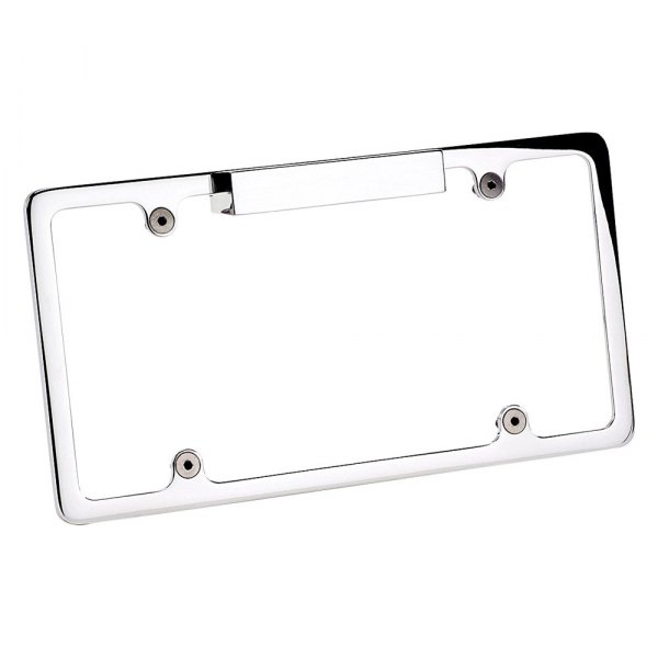 Billet Specialties® - License Plate Frame with Light