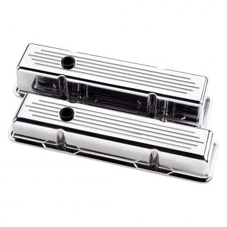 Billet Specialties® - Short Ball Milled Style Valve Covers