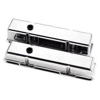 Billet Specialties® - Short Plain Style Valve Covers